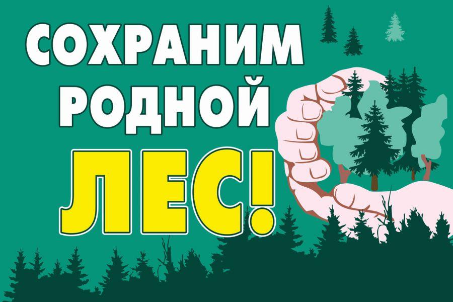 табличка сохраним родной лес
