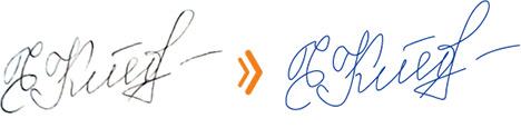 Изготовление факсимиле подписи в Кирове